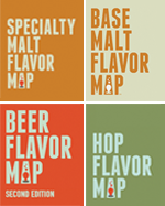 Beer Flavor, Second Edition; Base Malt Flavor; Specialty Malt Flavor; and Hop Flavor Maps (folded)