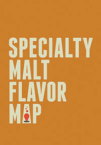 Specialty Malt Flavor Map (folded)