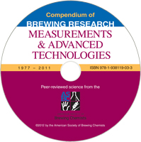 Measurments & Advanced Technologies Brewing Research CD SU