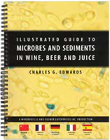 Illustrated Guide to Microbes and Sediments in Wine, Beer and Juice