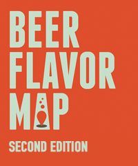 Beer Flavor Map, Second Edition (folded)